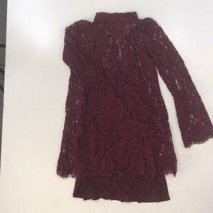 Wishlist Keyhole Mini Dress